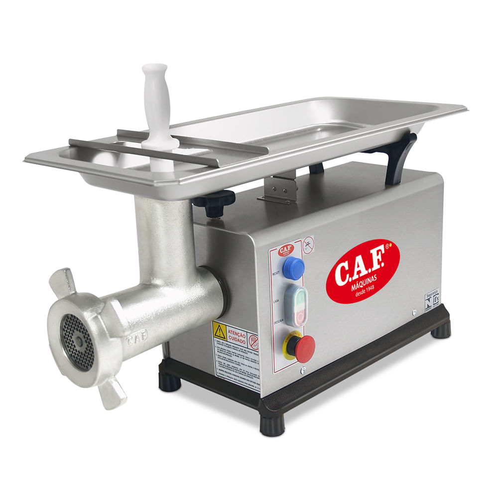moedor de carne caf-22 inox 1  25 cv 300 kg  h v15-m