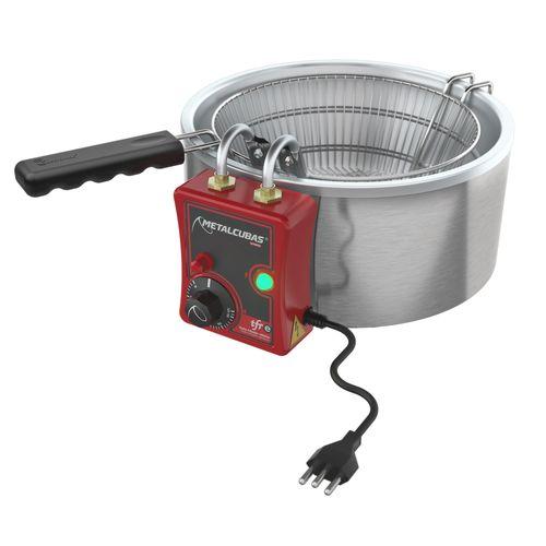 Fritadeira Metalcubas 3l Inox 220v - Tfre3