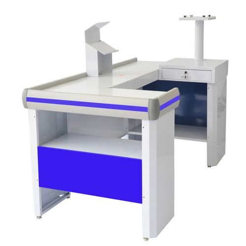 Balcao-Check-Out-Venancio-15m-Azul-com-Kit-CCK15