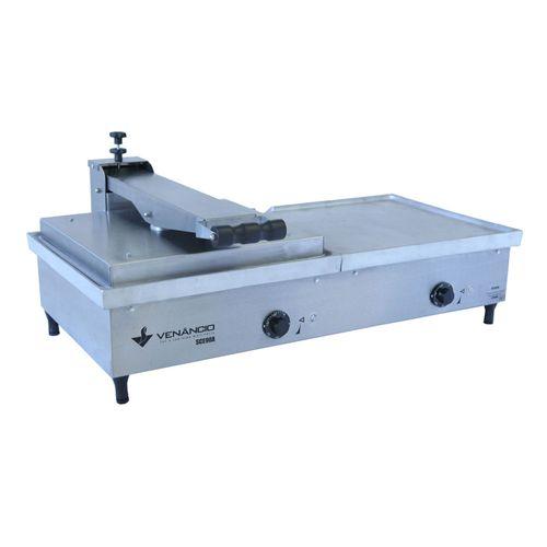 Sanduicheira-Conjugada-Eletrica-Venancio-70cm-Aluminio-SCE70A-