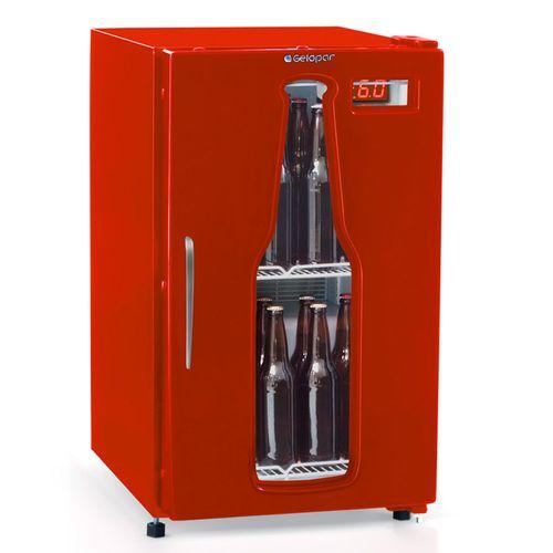 Cervejeira-Gelopar-112-Litros-Vermelha-com-Vidro-GRBA-120VM-