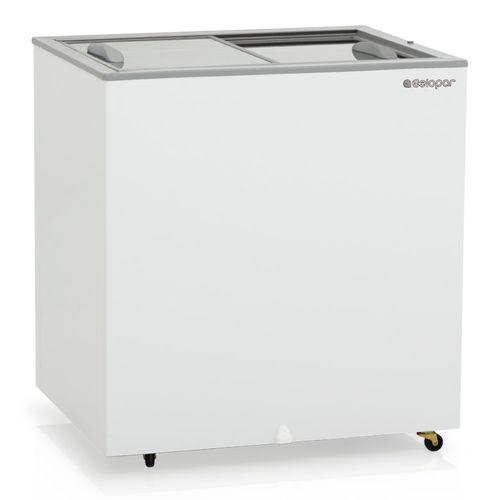 Freezer-Horizontal-Gelopar-180-Litros-Dupla-Acao-Portas-de-Vidro-GHDE-220-
