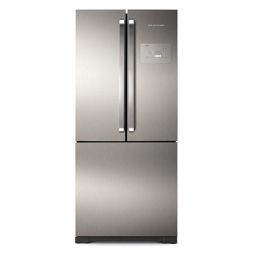 Geladeira---Refrigerador-Brastemp-Side-Inverse-Platinum-540-Litros-Frost-Free-BRO80A-