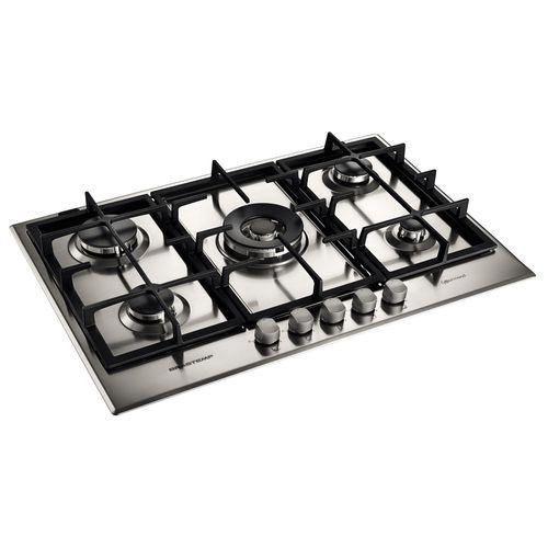 Cooktop-a-Gas-Brastemp-Gourmand-Quadrichama-5-Bocas-75cm-Inox-BDK75DRBNA-