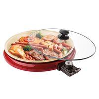 Grill-Eletrico-Mult-Grill-Ceramic-Pan-Vermelho-GRL350-Cadence-