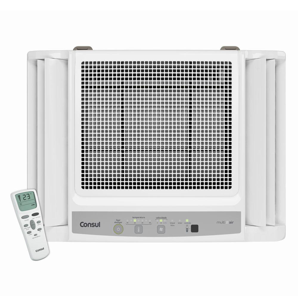 Ar Condicionado Janela Consul Eletrônico Frio com Controle Remoto 7.500 BTU / h CCN07DBBNA