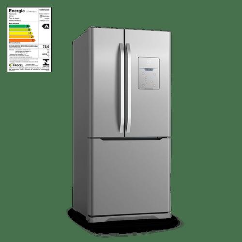 Geladeira / Refrigerador French Door Inox Electrolux 579 Litros (DM83X) 220V