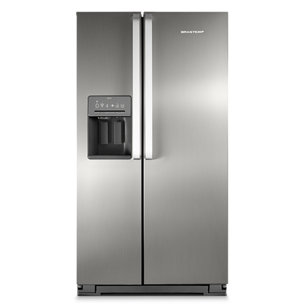 geladeira refrigerador side by side brastemp ative inox 560 litros brs62c catral. Black Bedroom Furniture Sets. Home Design Ideas