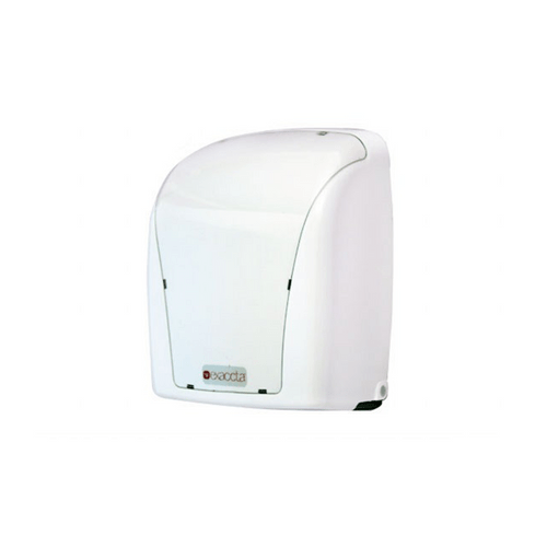 Dispenser-de-Papel-Toalha-Interfolha-Exaccta-Branco-E-Dint091