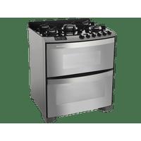 Fogao-de-Piso-Brastemp-Ative-Top-Glass-com-Duplo-Forno-BFD5VAR-220V
