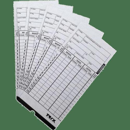 Cartao-de-Ponto-com-ID-Quinzenal-Trix-100un