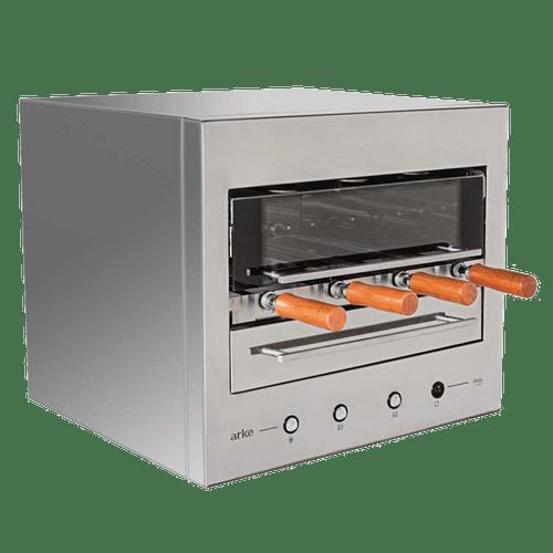 Churrasqueira-EletricaeGiratoria-Arke-Abile-Smart-com-4-Espetos-220V