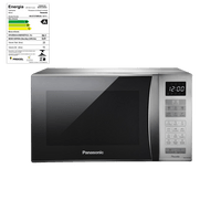 Microondas-Piccolo-Panasonic-25-Litros-Prata-Espelhado-NN-ST375MRU