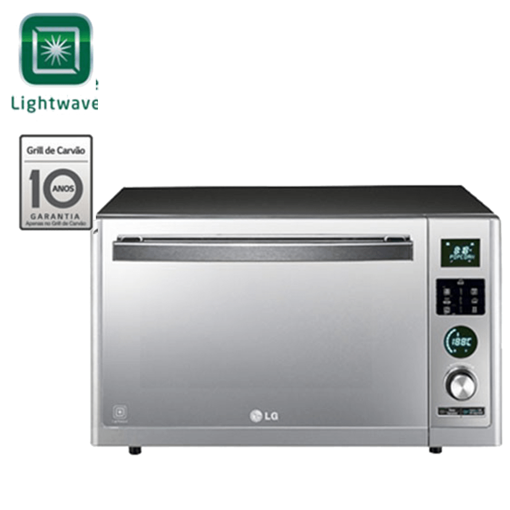 Forno Multifuncional com Microondas LG Solar Smart 32 litros 220V