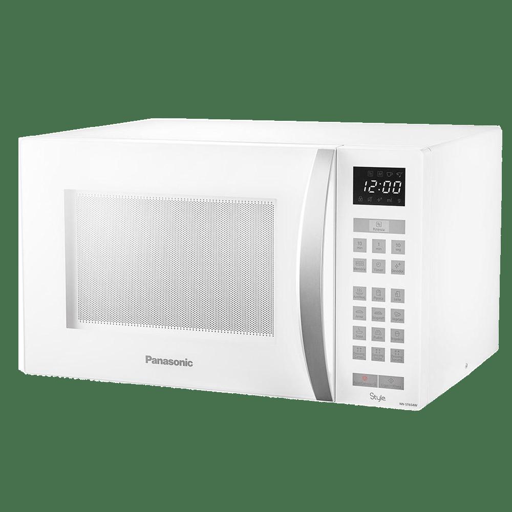 Microondas Style Panasonic 32 Litros Branco NN - ST654WRU 220V