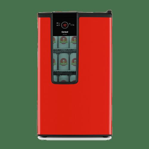 Cervejeira-Consul-Mais-82-Litros-Vermelha-CZD12AV-220V