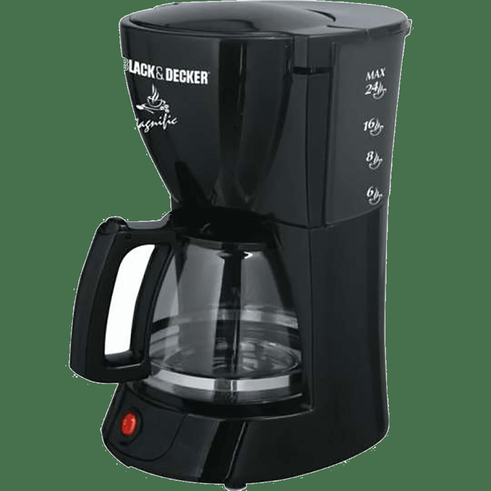 Cafeteira Black&Decker CM200 - B2 Vidro Preta 220V