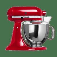 Batedeira-Planetaria-Stand-Mixer-Artisan-Vermelha-Inox-KEA30CV-220V