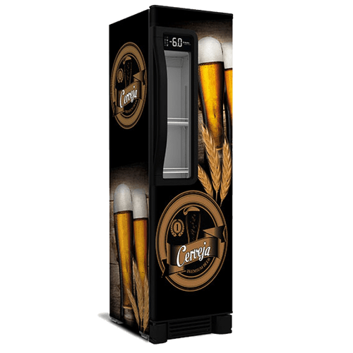 Geladeira/refrigerador 334 Litros 1 Portas Adesivado - Metalfrio - 220v - Vn28te