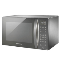 Microondas-Style-Grill-Panasonic-30-Litros-Inox-Espelhado-NN-GT696SRUK-220V