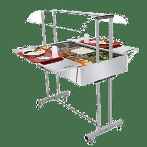 Mesa-Buffet-Self-Service-Venancio-para-Aquecimento-6-Cubas-Cromada-EA6M