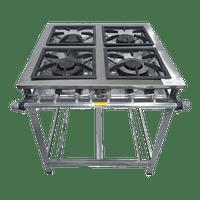 Fogao-Industrial-Metalmaq-4-Bocas-30x30cm-M14-Inox-S2010