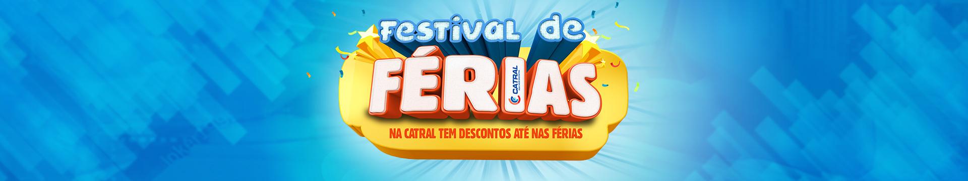 Festival férias - Capa