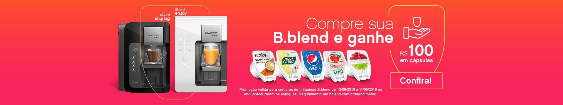 B blend promoção