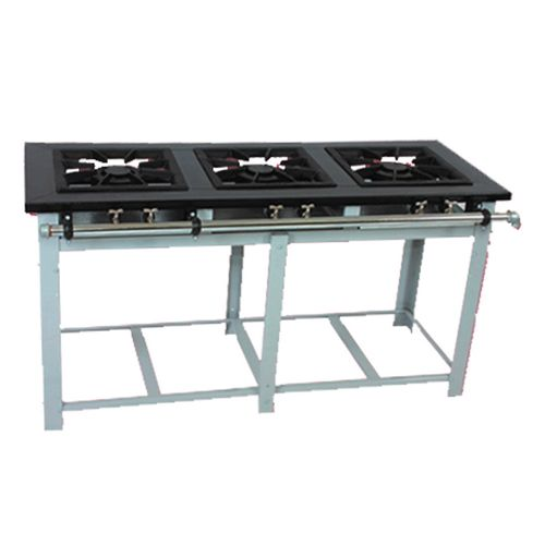 Fogao-Industrial-Venancio-3-Bocas-Duplas-em-Linha-Grelhas-40x40cm-Linha-Maxi-M3D