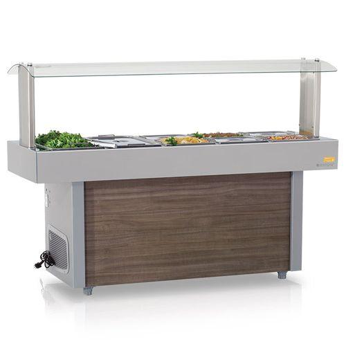 Mesa-Buffet-Self-Service-Gelopar-para-Resfriamento-sem-Cubas-GMRA-150