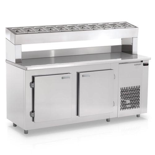 Balcao-Refrigerado-Gelopar-190m-Condimentaria-com-Cubas-GBPZ-190-