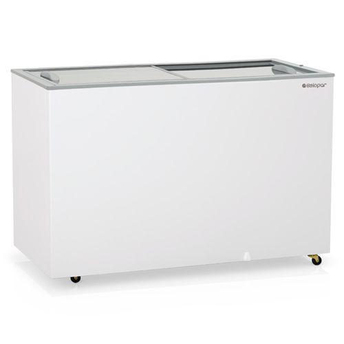 Freezer-Horizontal-Gelopar-362-Litros-Dupla-Acao-Portas-de-Vidro-GHDE-410-