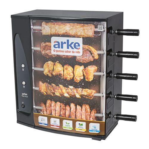 Churrasqueira-Eletrica-Giratoria-Arke-Vitta-Smart-com-5-Espetos--