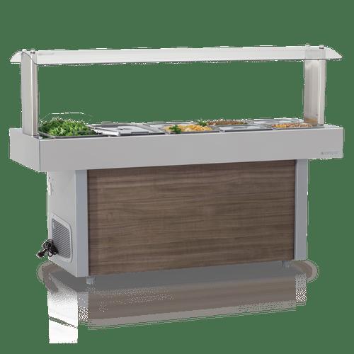 Mesa-Buffet-Self-Service-Gelopar-para-Resfriamento-sem-Cubas-GMRA-190-220V