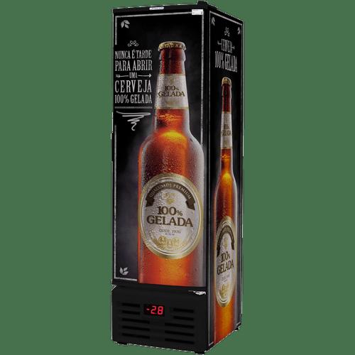 Cervejeira-Fricon-284-Litros-Preta-Adesivada-VCFC-284C-