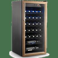 Adega-de-Vinhos-Refrimate-Home-Wine-Preta-AHW130-220V