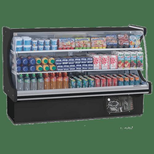 Balcao-Refrigerado-Gelopar-175m-Vitalis-2-Placas-Frias-Preto-GPSV-175-220V