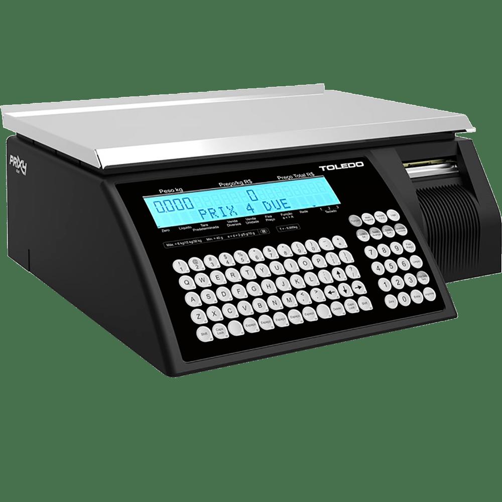 9de6556e7 Balança Eletrônica Toledo com Impressora Integrada 30Kg Prix 4 Due ...