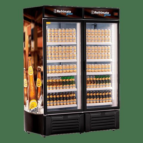 Geladeira/refrigerador 1300 Litros 2 Portas Adesivado - Refrimate - 220v - Vcc1300v
