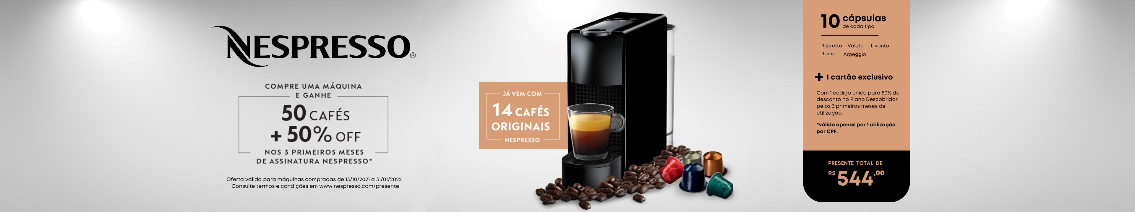 Nespresso - Compre e Ganhe!