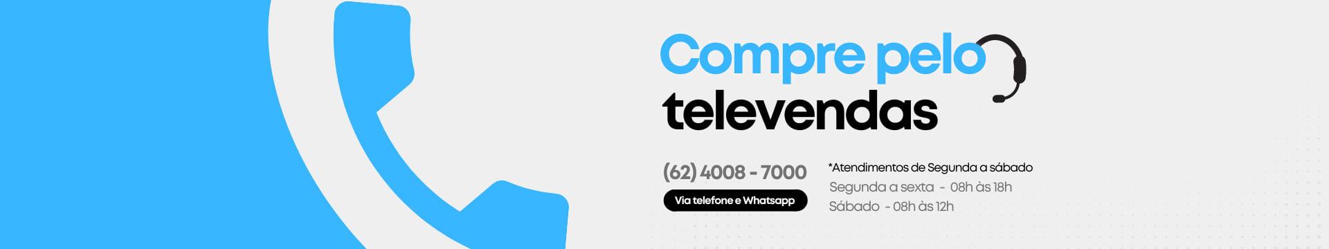 Compre pelo Televendas!